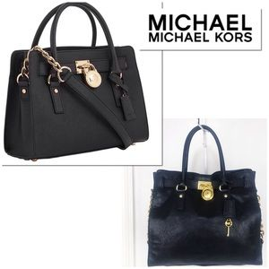 MICHAEL Michael Kors Large Leather Hamilton Tote